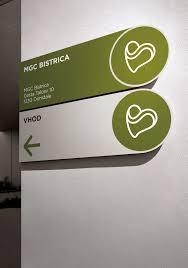 Mgc Design Mgc Bistrica Signage Design On Behance Wayfinding