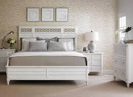 Louvered Bedroom Furniture Stanley Furniture Cypress Grove Cottage Style Queen Wood Panel