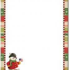 Christmas Letterhead Template Christmas Letter Stationery Template New Free Printable Christmas