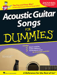 While the songs themselves feature an acoustic guitar, you can play the tabs and chords for each song on an electric or classical guitar. Acoustic Guitar Songs For Dummies Hal Leonard Online
