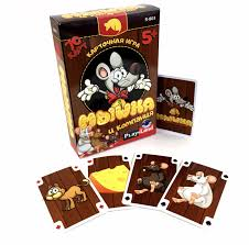 Карточная <b>игра</b> Мышка и компания <b>Play Land</b> - МНОГОКНИГ.lv ...