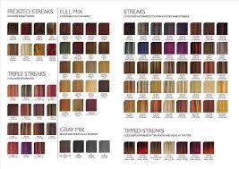 Wella Demi Permanent Hair Colour Chart Wella Color Charm 5rg Wella Antiquites Musicales Com