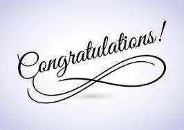 word of congratulations