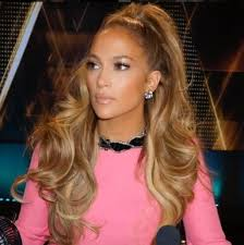 looking several years younger than her actual age this hairstyle definitely plements jlo s features but then again is there anything that doesn t