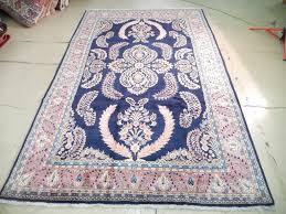 blue and pink rug cream 95 x43 cmdoor matvintage