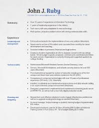 Resume Template Examples Examples of Amazing Resume Formats 2020