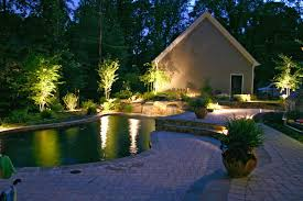 pool landscape lighting ideas. landscape and tree lighting ideas with pool
