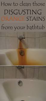 how to clean a really stained bathtub thevote