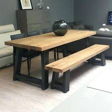 dining table and bench seats wood and metal bench wood dining table with bench seats furniture