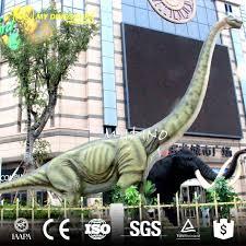 brachiosaurus size shopping mall dinosaur exhibition robotic dinosaur brachiosaurus