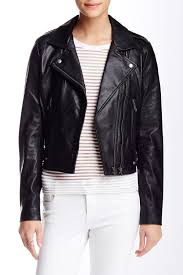 image of linea pelle the ryder genuine leather jacket