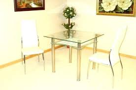 medium size of small round glass dining table 2 chairs black and furniture extraordinary a