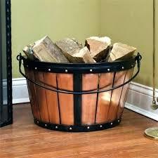 fireplace bucket copper firewood bucket i firewood holder ideas firewood holder copper basket fireplace accessories ideas fireplace bucket