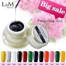 <b>lvmay brand</b> nail <b>gel</b> polish 12 color(gold,silver,white,black,red ...