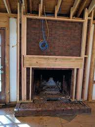 tile structure for mounting above fireplace home improvement hanging tv above fireplace framing junction boxes final run cables above a fireplace