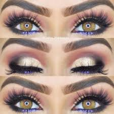 top ideas of the smokey makeup for hazel eyes