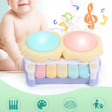 Musical Light For Babies Us 9 02 40 Off Baby Electric Hand Beat Drums Childrens Music Pat Drum Electronic Piano Baby Toys Dream Music Light Drums Smart Toys In Toy Musical