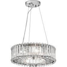 crystal skye ip44 bathroom ceiling chandelier with crystal prism rods