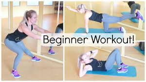 fitness thuis beginner