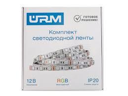<b>Светодиодная лента URM SMD</b> 5050 60 LED 12V 14 4W 840lm ...