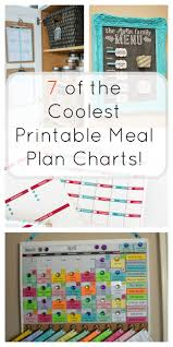meal planning chart 7 printable meal plan charts the organized