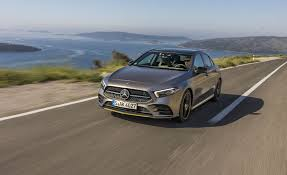 The styling borrows heavily from the elite. 2019 Mercedes Benz A Class Hatchback Driven