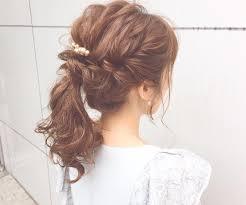 結婚式の髪型のマナーはオススメヘアアレンジを紹介feelyフィーリー