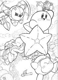 Free printable kirby coloring pages. Kirby Marx Printable Coloring Pages Page 1 Line 17qq Com