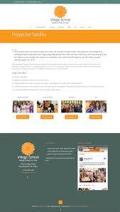 Website Design Charlottesville Va Village School Wordpress Website Charlottesville Va