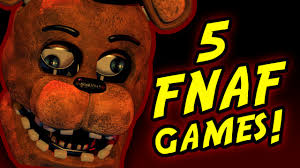 5 five nights at freddy s fan games you