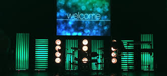 Church Stage Design Ideas portable lines