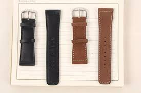 chicago watch band genuine leather wrist band strap for apple watch iwatch 38mm black cod