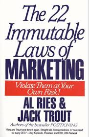 22 Immutable Laws Of Marketing The 22 Immutable Laws Of Marketing