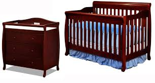 alice 3 in 1 crib set in cherry magnifier