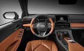 2019 Toyota Avalon Limited Hybrid Dashboard - Photos - First ...