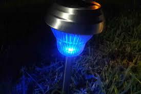 decorative solar lighting. Sogrand Solar Lights Outdoor Pathway Decorative Garden Stake Light Upgraded Dual LED White Blue Glass Lens Brgiht 10Lumen Decorations Stainless Lighting L