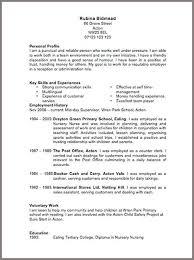Cv Pattern Cv Template Free Large Images Cv Template Job Resume