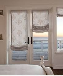 shades for front doorWonderful Roman Shades For French Patio Doors French Door Roman