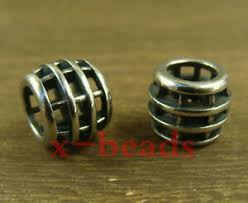 2pcs <b>316L stainless steel</b> Cage shaped Lanyard Bead Paracord ...