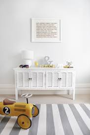 white and gray stripe rug