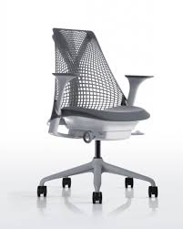 leopard print office chair. Herman Miller SAYL Chair Office Furniture Scene Black And White Polka Dot Desk Leopard Print 2