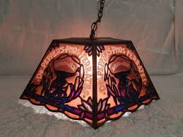 49 most matchless vintage stained glass hanging lamp elegant rare dr pepper s phos ferrates tiffany