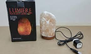 Lumiere Salt Lamp