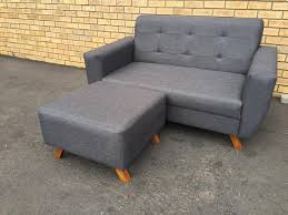 New 2 Seater Jasmine Couch with ottoman - Home Furniture Cape Town