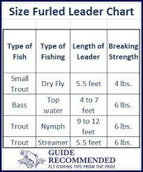 Fly Leader Formula Chart What Is A Furled Leader For Fly Fishing Guide Recommended