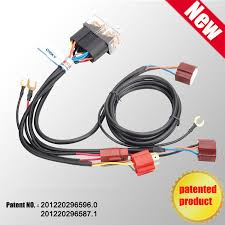 wholesale patent product hot sale waterproof 12v 2 light h4 Headlight Wiring Harness patent product hot sale waterproof 12v 2 light h4 headlight wiring harness relay kits ch headlight wiring harness diagram