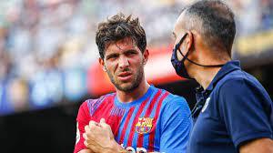 The Barça communicates the medical part of Braithwaite and Sergi Roberto
