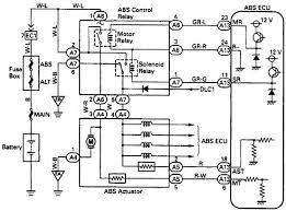 toyota abs control relay wiring diagram typical toyota abs control relay wiring diagram