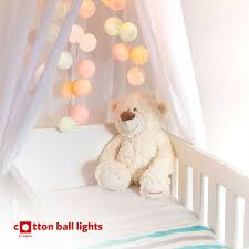 Kinderkamer Lichtslingers Cotton Ball Lights