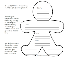 Gingerbread Man Felt Board Story Template Using Gingerbread Man Cookies To Teach Language Skills Cooking Up